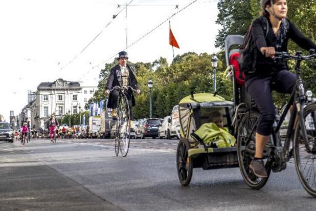 Bruxelles a mieux respiré lors du dimanche sans voiture