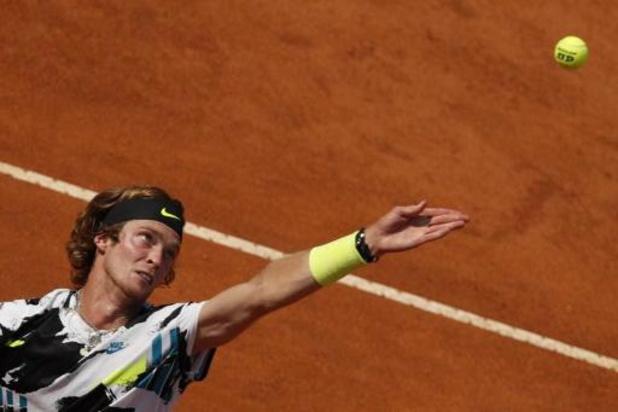 ATP Hamburg - Rublev is de eerste finalist in Hamburg, Tsitsipas wordt uitdager