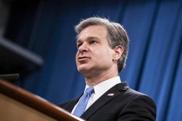 """""""Biden wil FBI-directeur Wray op post houden"""""""