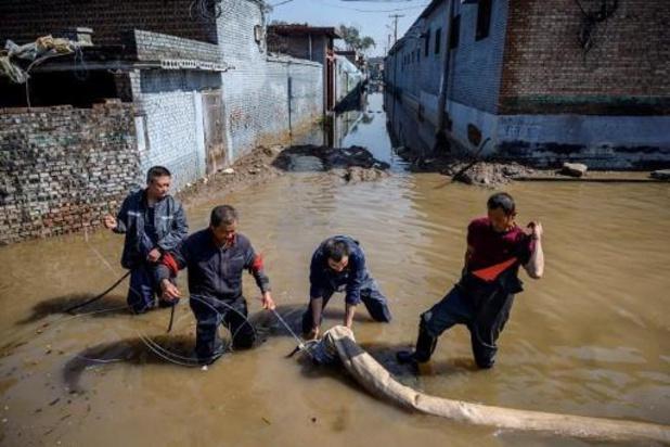 Vijftien doden bij overstromingen in China