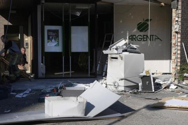 Argenta sluit al zijn bankautomaten na plofkraken