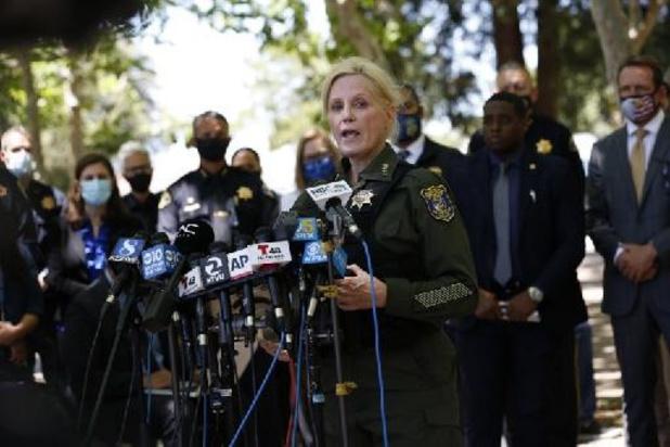 Fusillade en Californie: les drapeaux US en berne, le tireur s'est donné la mort