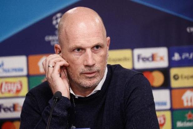 """Champions League - Philippe Clement gelooft in nieuwe stunt: """"We willen onze voet naast Leipzig zetten"""""""