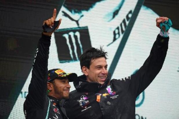 """Mercedes sera la """"dernière équipe"""" de Lewis Hamilton, selon Toto Wolff"""