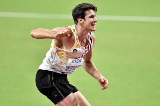 WK atletiek - Thomas Van der Plaetsen wil donderdag blazoen oppoetsen