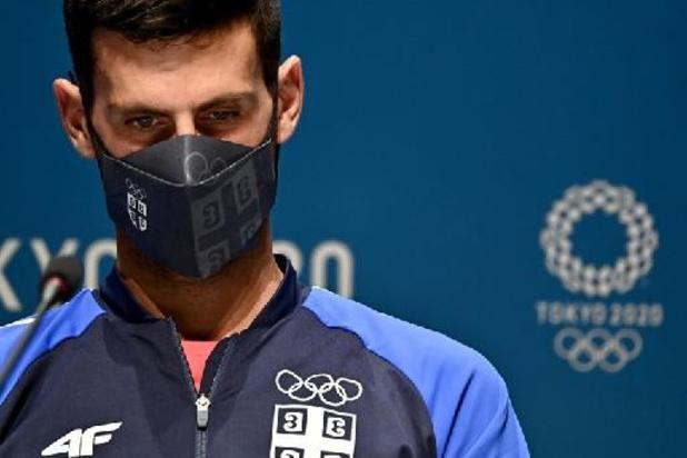 """""""Golden Slam"""" is voor Djokovic """"nog veraf"""", """"maar ik sta er wel goed voor"""""""