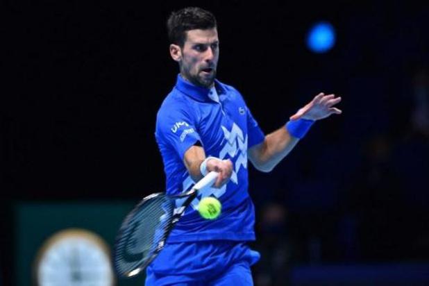 Djokovic wint eerste groepsmatch van Schwartzman