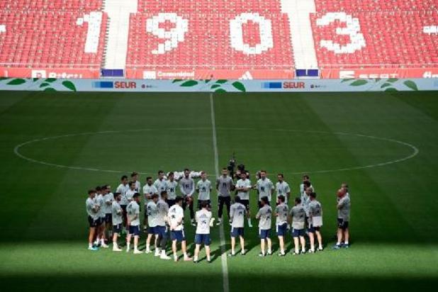 Face au Covid-19, l'Espagne décide de vacciner tous ses joueurs pour l'Euro