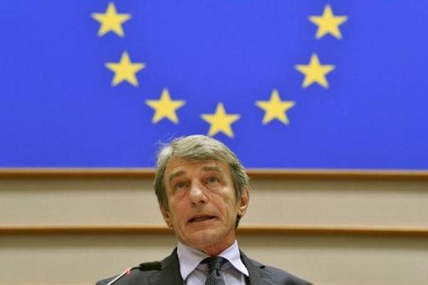 """Le président du Parlement européen demande à Sophie Wilmès des """"mesures immédiates"""""""