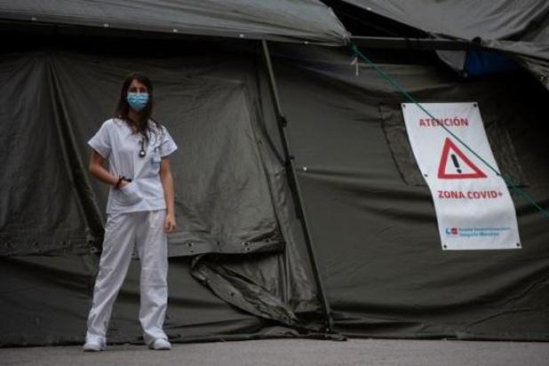 Voor de derde dag op rij minder dan 200 nieuwe sterfgevallen in Spanje