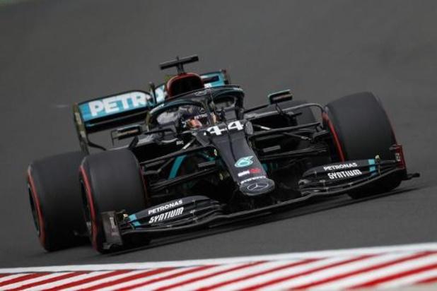 Lewis Hamilton (Mercedes) décroche la pole sur le Hungaroring