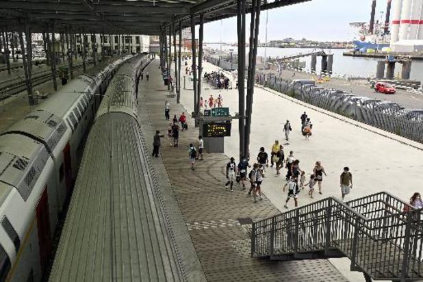 Les 5 et 6 juin, la SNCB va tester des trains directs vers la Côte avec réservation