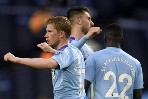 Les Belges à l'étranger - Manchester City domine Arsenal, Kevin De Bruyne buteur