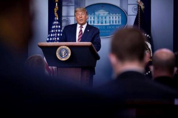 """Présidentielle américaine 2020 - """"Mensonges"""": des télévisions américaines coupent l'allocution de Trump"""