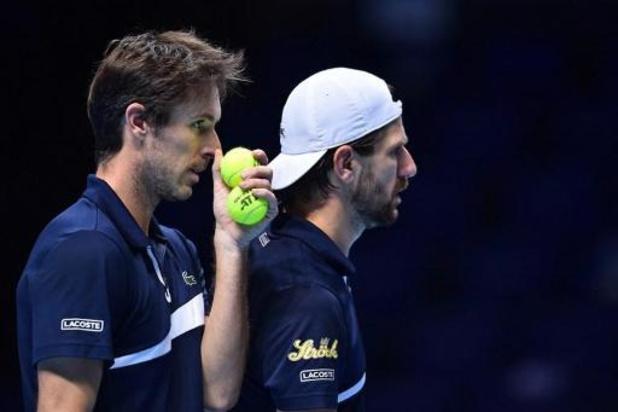 ATP Finals - Melzer et Roger-Vasselin contre Koolhof et Mektic en finale du double