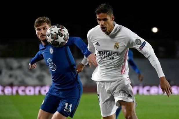 Real Madrid mist geblesseerde Raphaël Varane in return tegen Chelsea