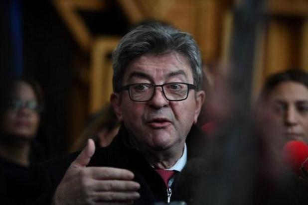 Leider van La France Insoumise veroordeeld tot drie maanden cel met uitstel