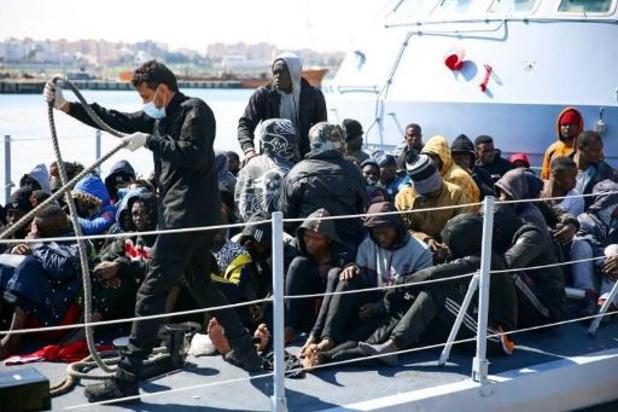Libische kustwacht redt ruim 100 migranten in nood