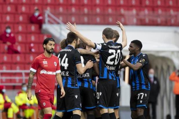 Le Club de Bruges s'impose à l'Antwerp et assoit sa domination sur le championnat