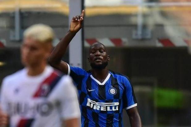 Les Belges à l'étranger - Romelu Lukaku marque son 20e but, mais l'Inter s'incline face à Bologne