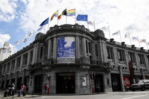 Dakbrand in Bozar Brussel: brand nog niet onder controle