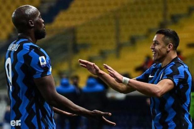 Les Belges à l'étranger - Romelu Lukaku, double passeur, mène l'Inter à la victoire