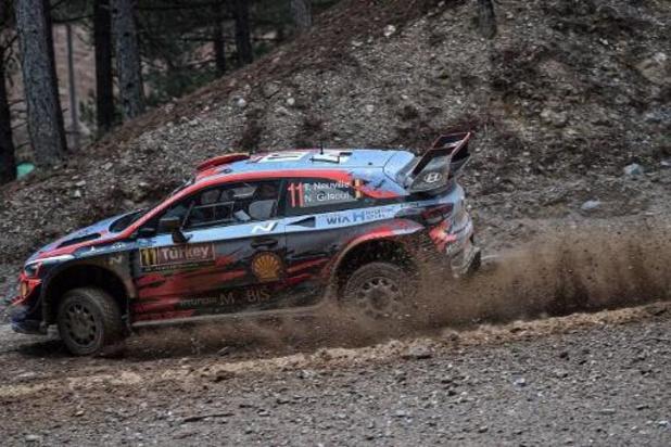 """WRC - Rallye de Turquie - Neuville: """"La pluie de l'après-midi nous a aidés"""""""