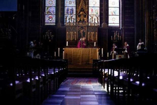 Assouplissement dans les services religieux: des protocoles établis
