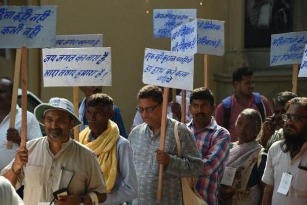 Inde: départ d'une marche pour la paix dans le monde pour promouvoir les valeurs de Gandhi
