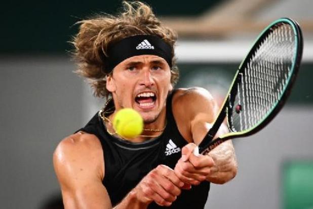 Alexander Zverev, encore trop fort pour Kei Nishikori, file en quarts de finale à Roland-Garros