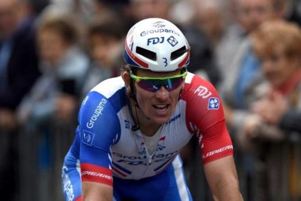 Tour de Slovaquie: Arnaud Démarre enlève la 3e étape, Yves Lampaert reste leader