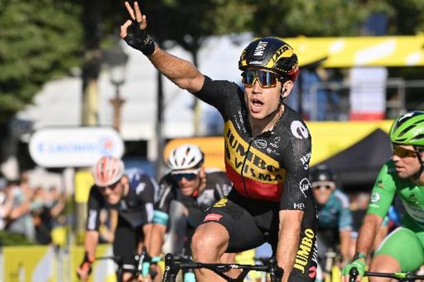 Wout van Aert wint slotrit en verovert eindzege Tour of Britain