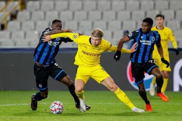 Bruges vise l'exploit à Dortmund pour continuer à rêver, PSG, Inter et Real dos au mur