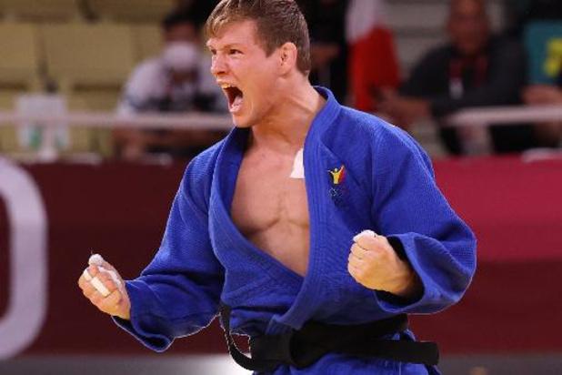 Matthias Casse médaille de bronze en -81 kg