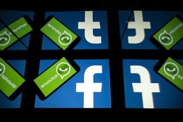 Facebook en WhatsApp verliezen terrein in België