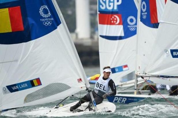 Wannes Van Laer a pris la 20e place de la 3e régate