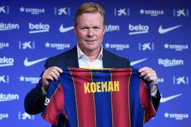 """Ronald Koeman: """"Tout le monde sait que Barcelone est ma maison"""""""