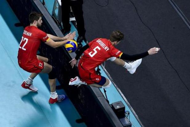 """Euro de volley (m) - Igor Grobelny a pu se montrer contre la Serbie """"une équipe du top mondial"""""""
