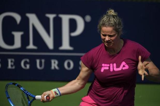 WTA Monterrey - Kim Clijsters tegen Johanna Konta in eerste ronde