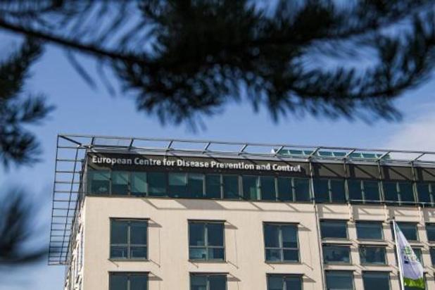 Le Centre européen de prévention et de contrôle des maladies place la Belgique en orange