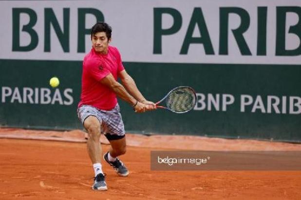 Facundo Bagnis contre Cristian Garin en finale