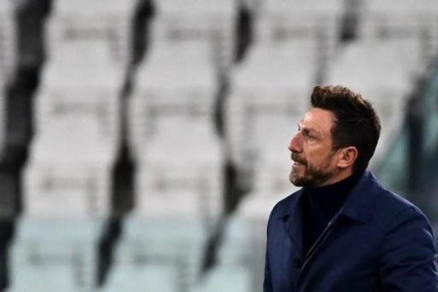 Eusebio Di Francesco is niet langer coach van Radja Nainggolan