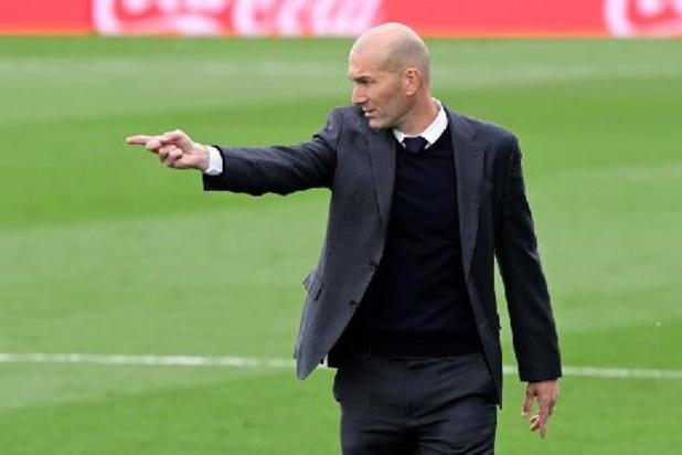 Zidane a signifié son départ au Real Madrid, selon la presse espagnole