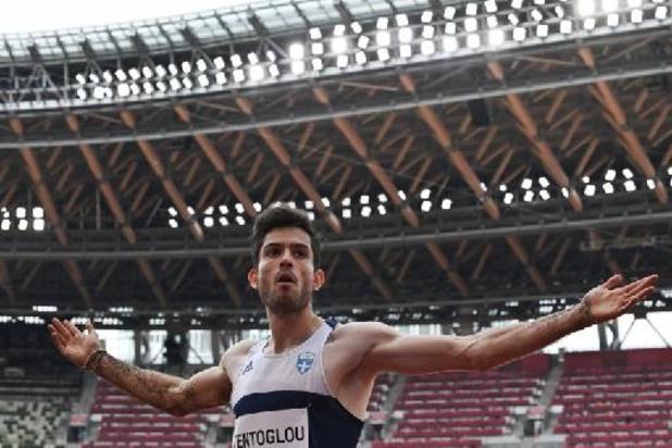 JO 2020 - Le Grec Miltiadis Tentoglou titré à la longueur grâce à son dernier saut