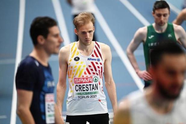 EK atletiek indoor - Eliott Crestan mist finale 800 meter