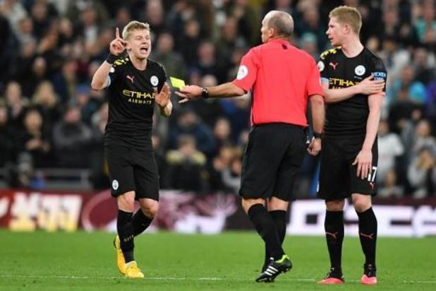 Belgen in het buitenland - Strafschopmisser en rode kaart doen City tegen Tottenham das om