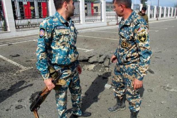 Les premières forces de la paix russes déployées dans la zone du conflit