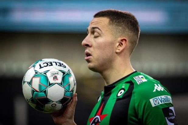 Cercle Brugge rekent niet meer op Kylian Hazard