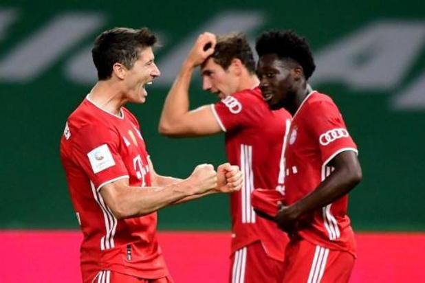 DFB Pokal - Bayern München pakt met twintigste bekerzege tweede Duitse dubbel op rij