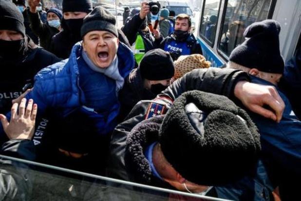 Kazakhstan: des dizaines d'arrestations lors d'une manifestation d'opposition